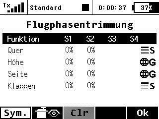Flugphasentrimm 1