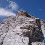 Typische Kletterei