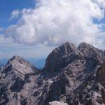 Hochblassen, links die Alpsitze