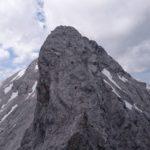 Volkarspitze ca. 50m D Klettersteig senkrecht