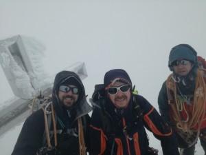 Großvenediger Gipfel ohne Aussicht